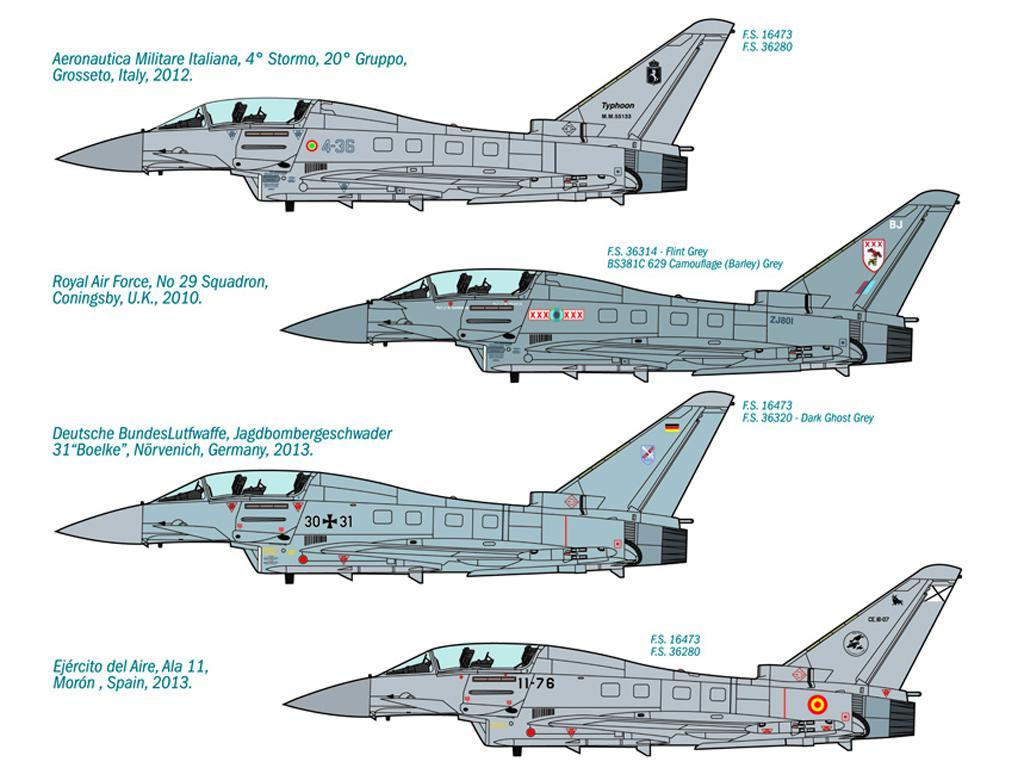 EF 2000 Typhoon IIB (Vista 2)