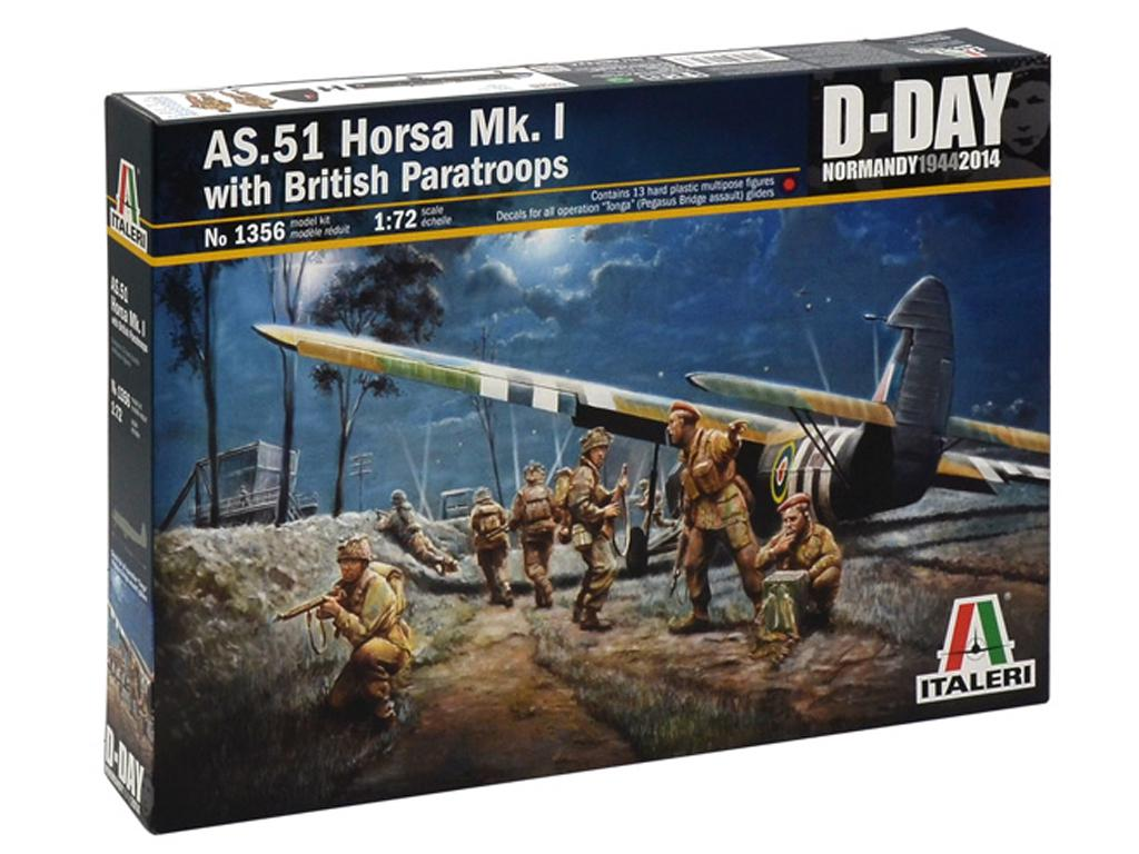 AS.51 HORSA Mk.I. y Paracaidistas (Vista 1)