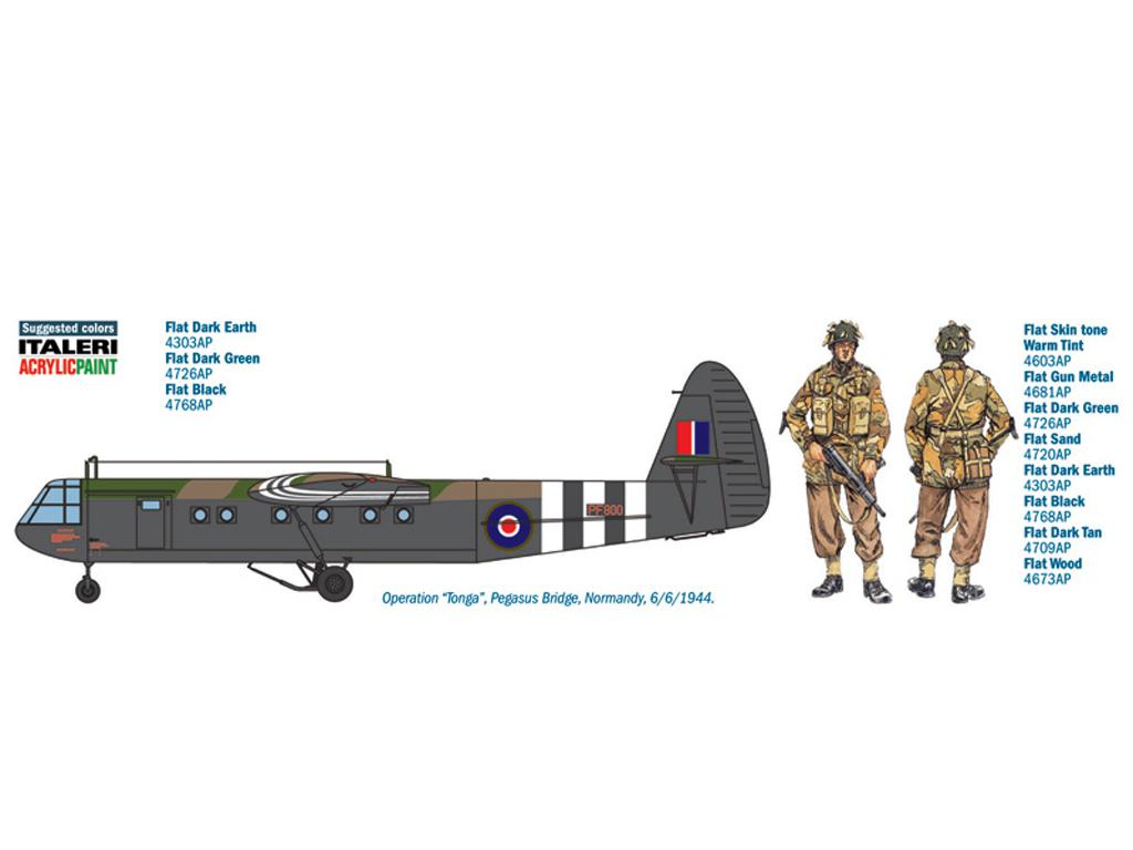 AS.51 HORSA Mk.I. y Paracaidistas (Vista 2)