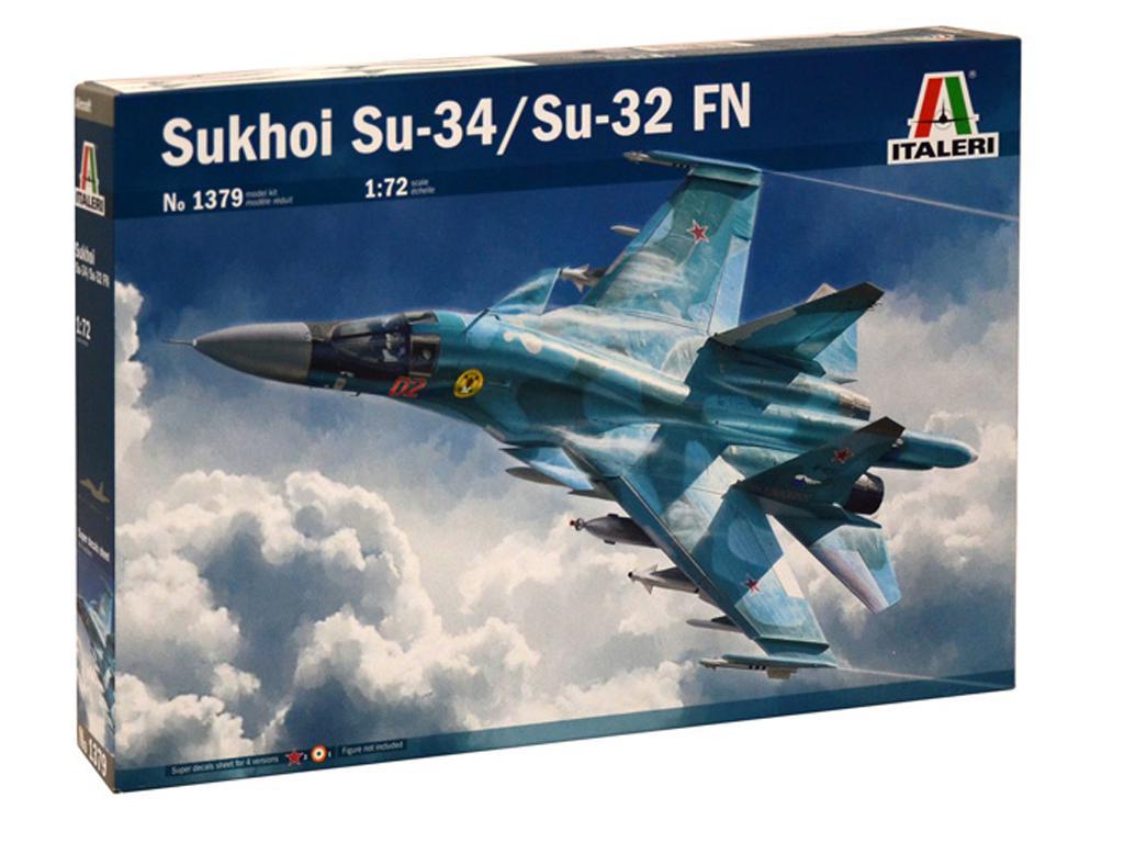 Sukhoi Su-34 Fullback (Vista 1)