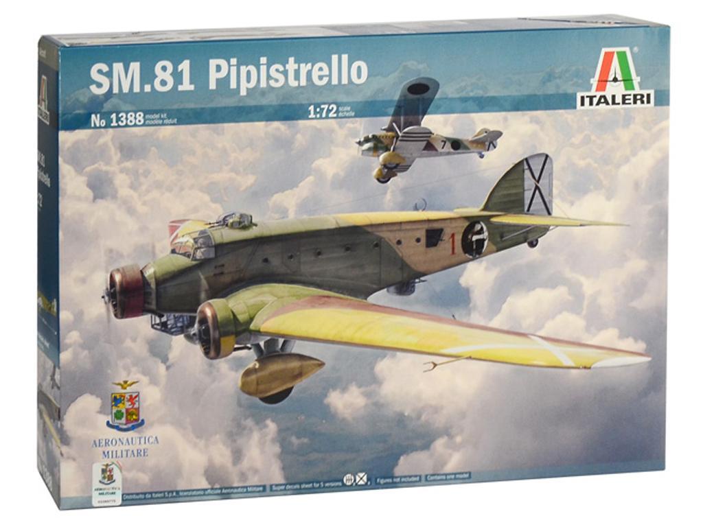 SM.81 Pipistrello (Vista 1)