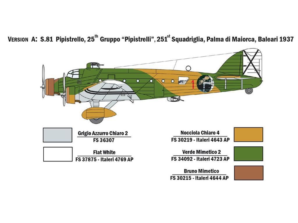 SM.81 Pipistrello (Vista 4)