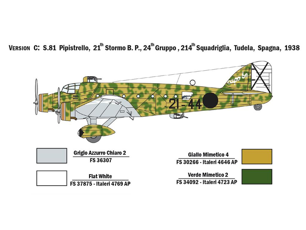 SM.81 Pipistrello (Vista 6)