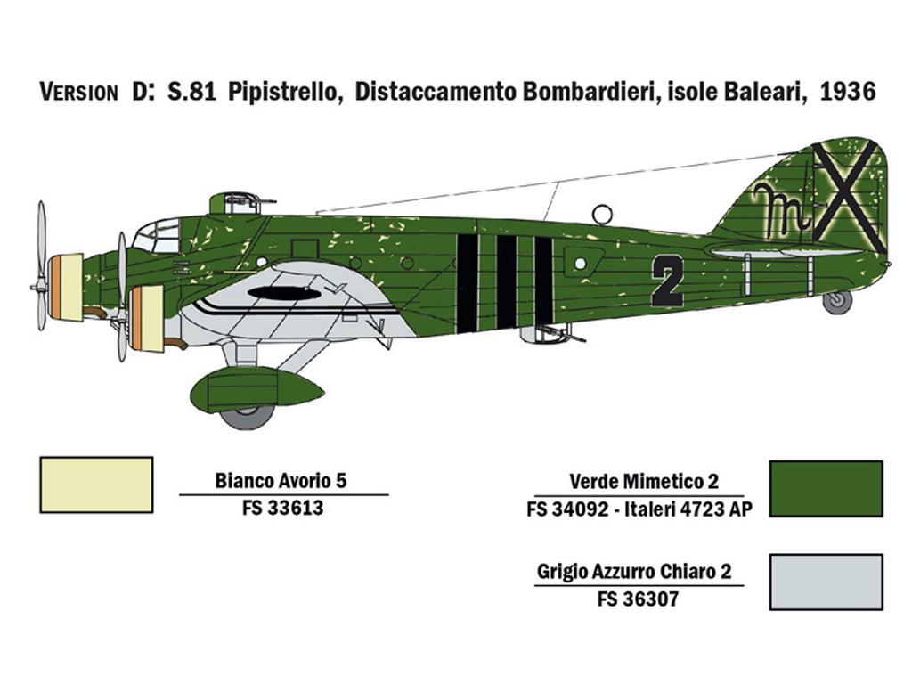 SM.81 Pipistrello (Vista 7)