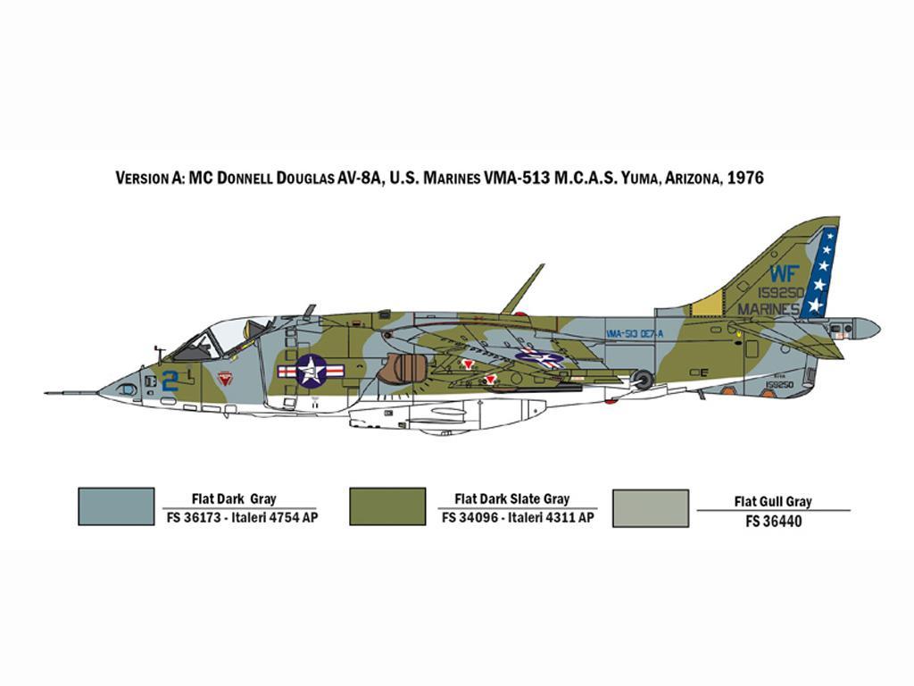 AV-8A Harrier (Vista 4)