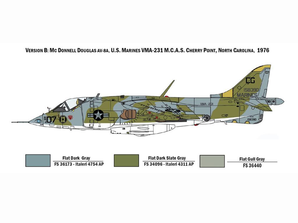 AV-8A Harrier (Vista 5)
