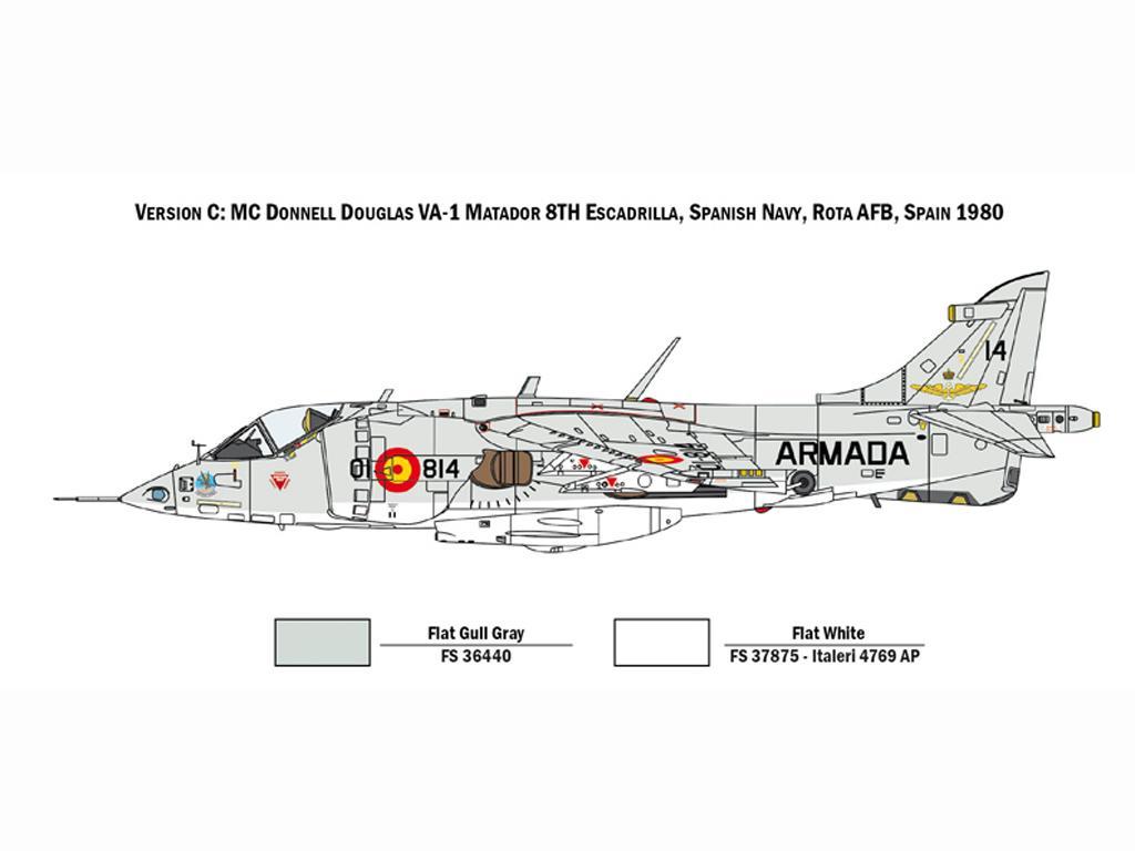 AV-8A Harrier (Vista 6)