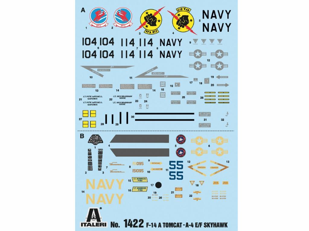 Top Gun F-14A vs A-4F (Vista 3)