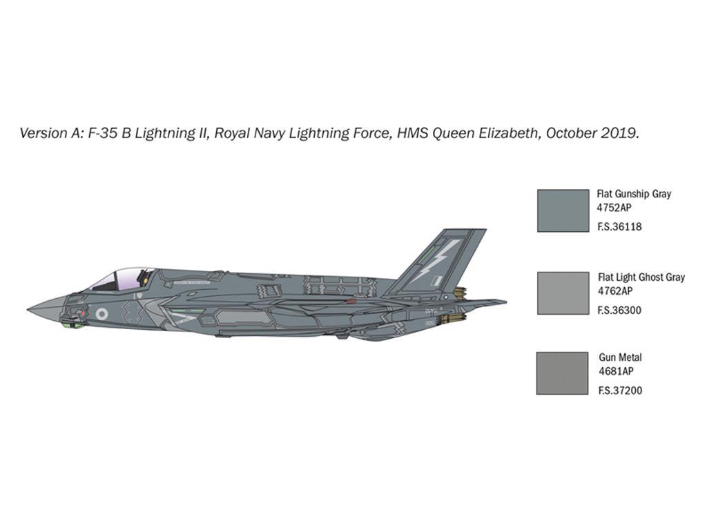 F-35 B Lightning II STOVL version (Vista 2)