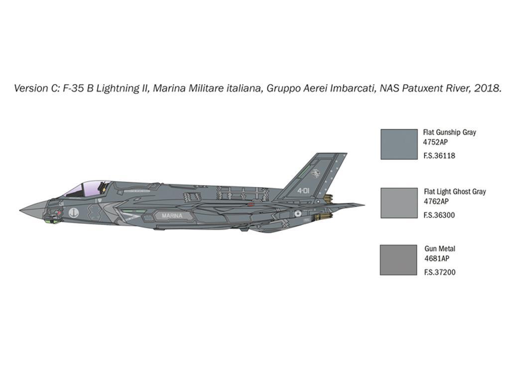 F-35 B Lightning II STOVL version (Vista 5)
