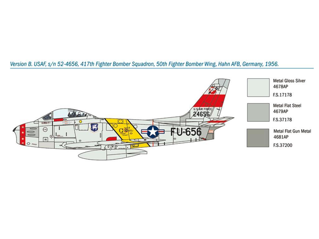 F-86F Sabre (Vista 2)