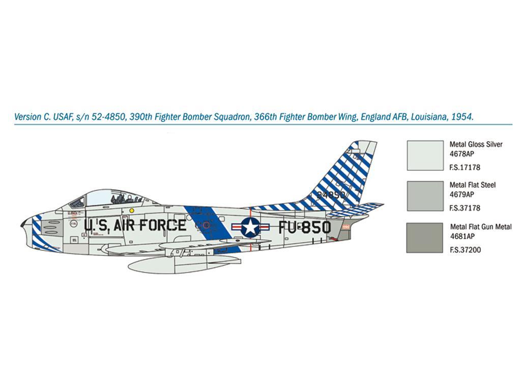 F-86F Sabre (Vista 4)