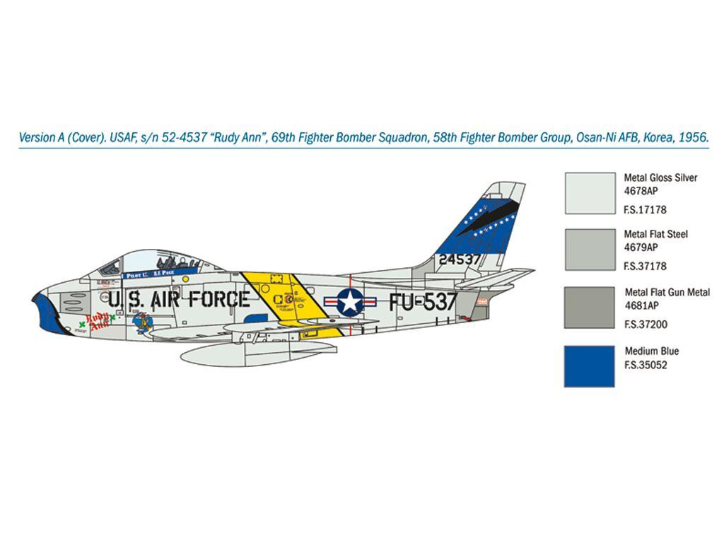 F-86F Sabre (Vista 5)