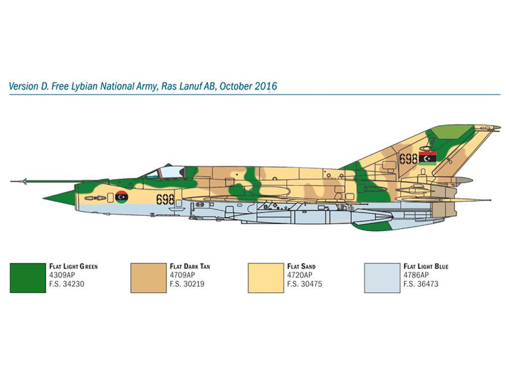 MiG-21 Bis 'Fishbed (Vista 2)