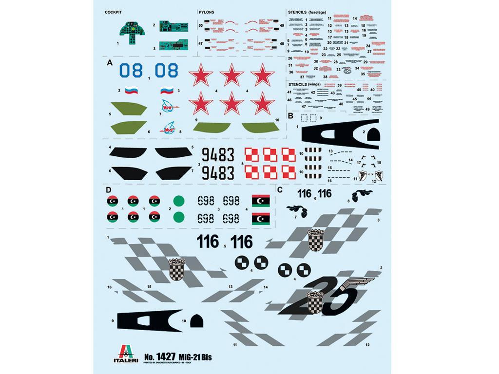 MiG-21 Bis 'Fishbed (Vista 3)