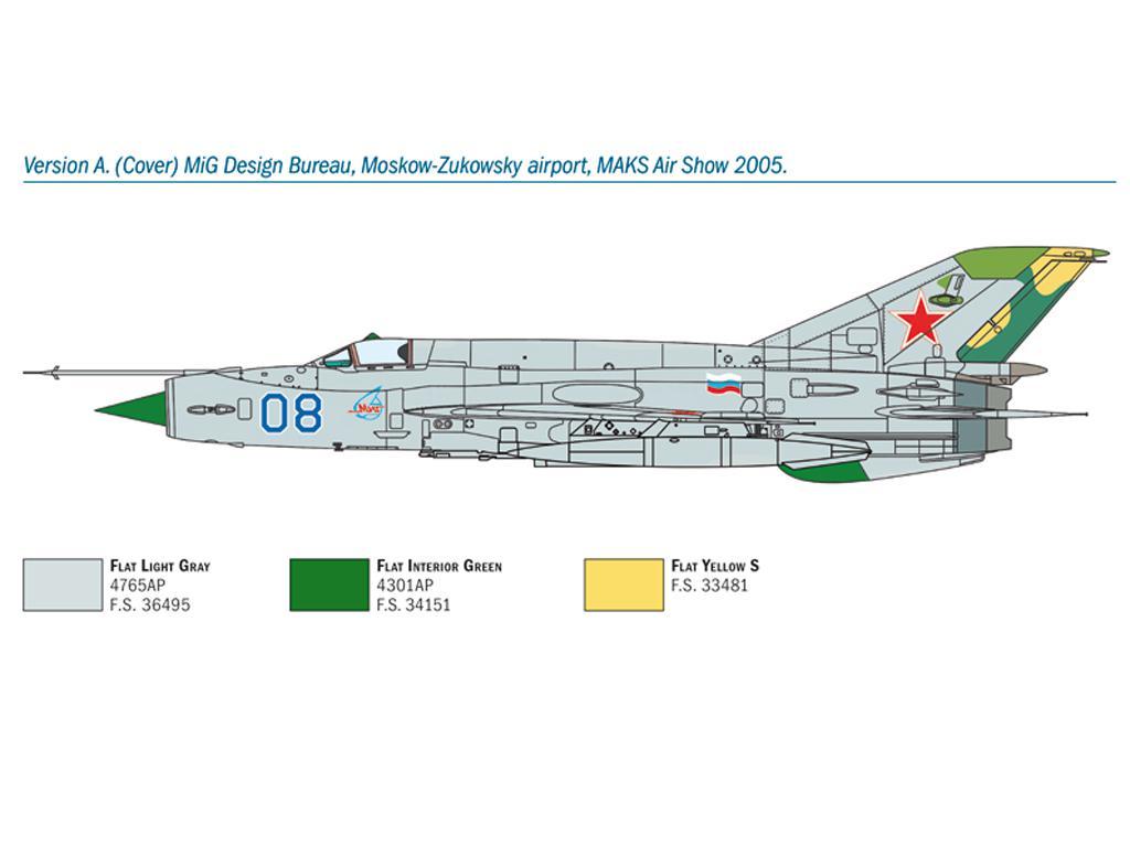 MiG-21 Bis 'Fishbed (Vista 4)