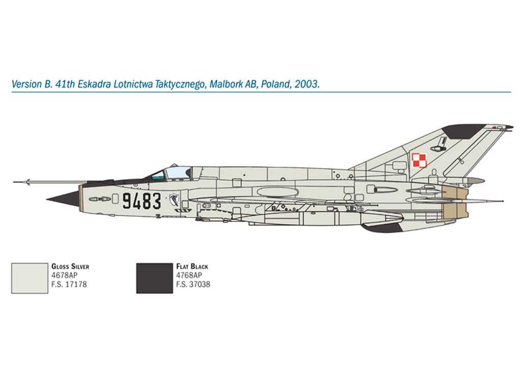MiG-21 Bis 'Fishbed (Vista 5)