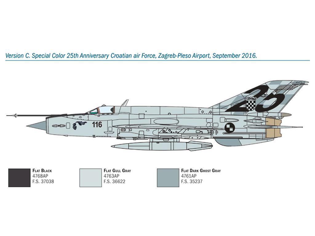 MiG-21 Bis 'Fishbed (Vista 6)
