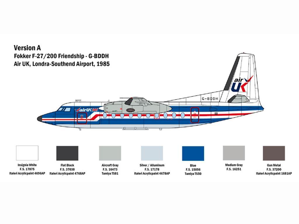 Fokker F27 Friendship (Vista 4)