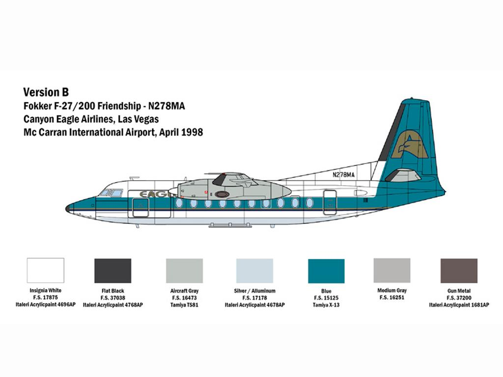 Fokker F27 Friendship (Vista 5)