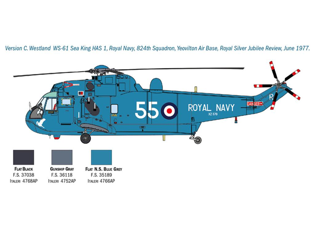 SH-3D Sea King Apollo Recovery (Vista 2)