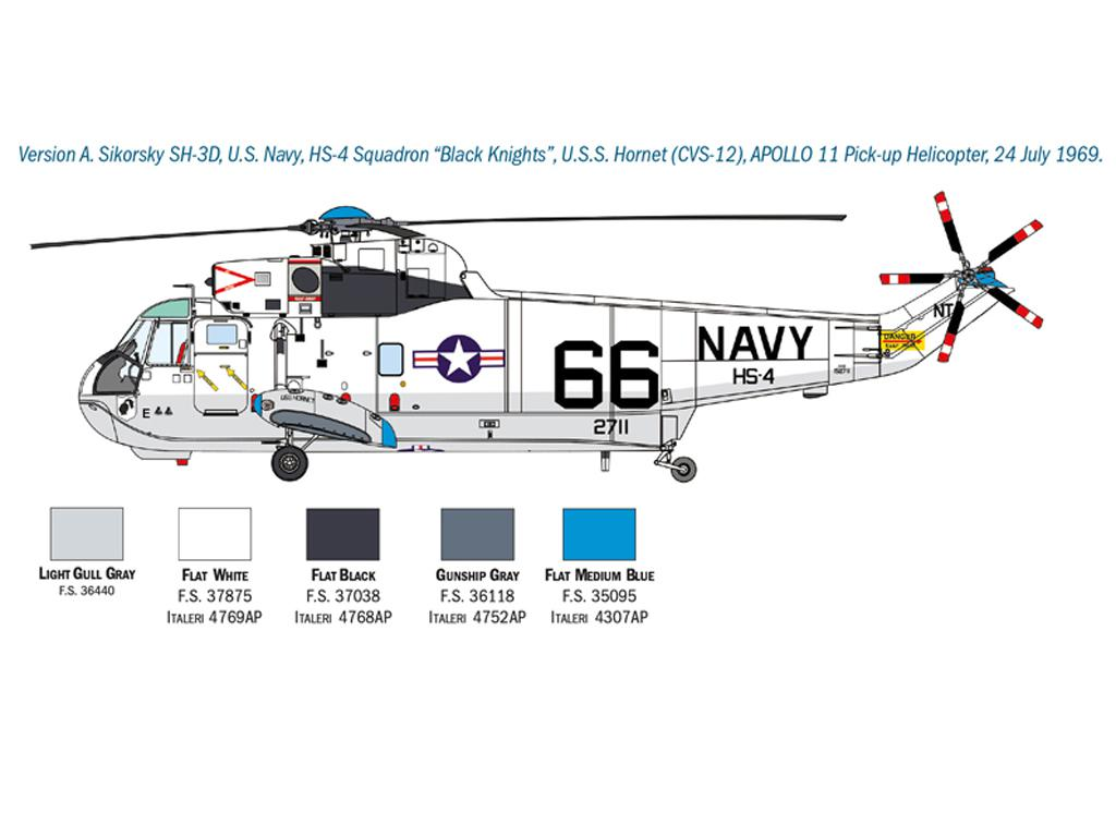 SH-3D Sea King Apollo Recovery (Vista 4)