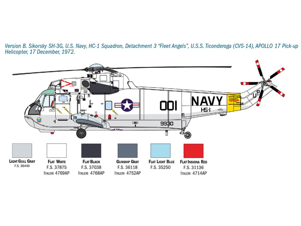 SH-3D Sea King Apollo Recovery (Vista 5)