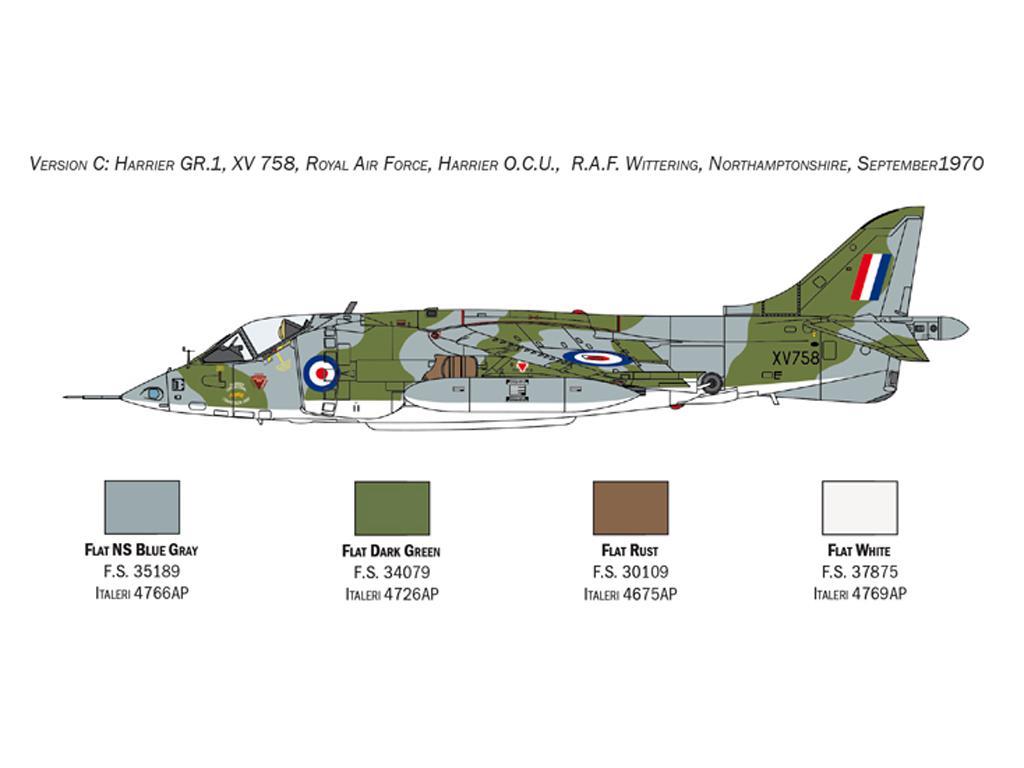 Harrier GR.1 Transatlantic Air Race 50th Ann. (Vista 2)