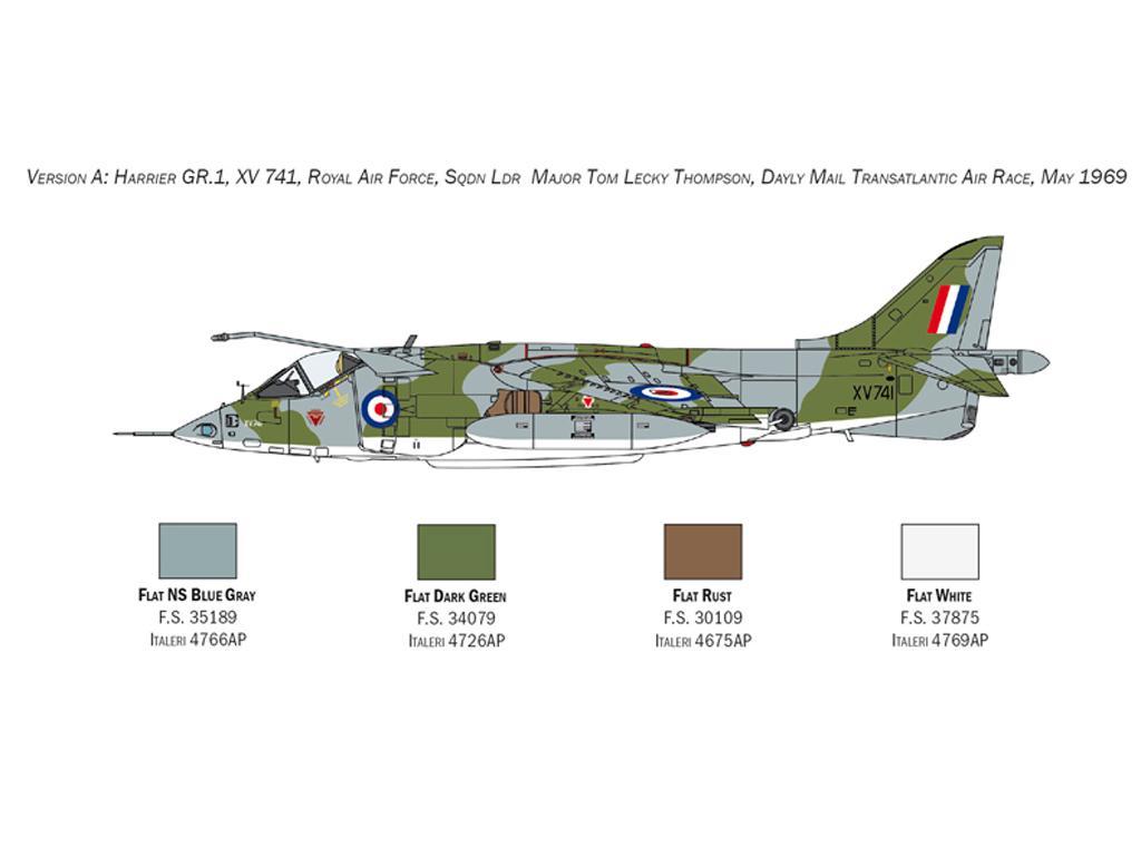 Harrier GR.1 Transatlantic Air Race 50th Ann. (Vista 4)