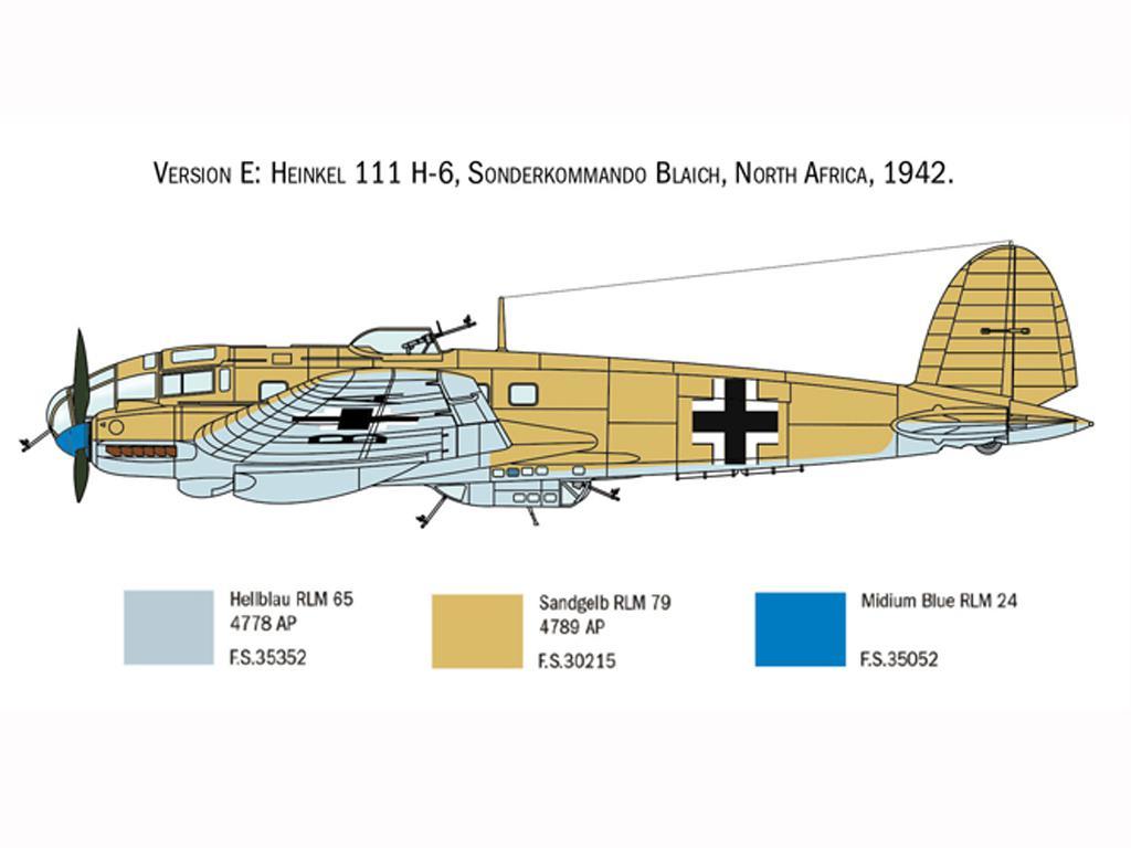 Heinkel He111H Battle of Britain (Vista 2)