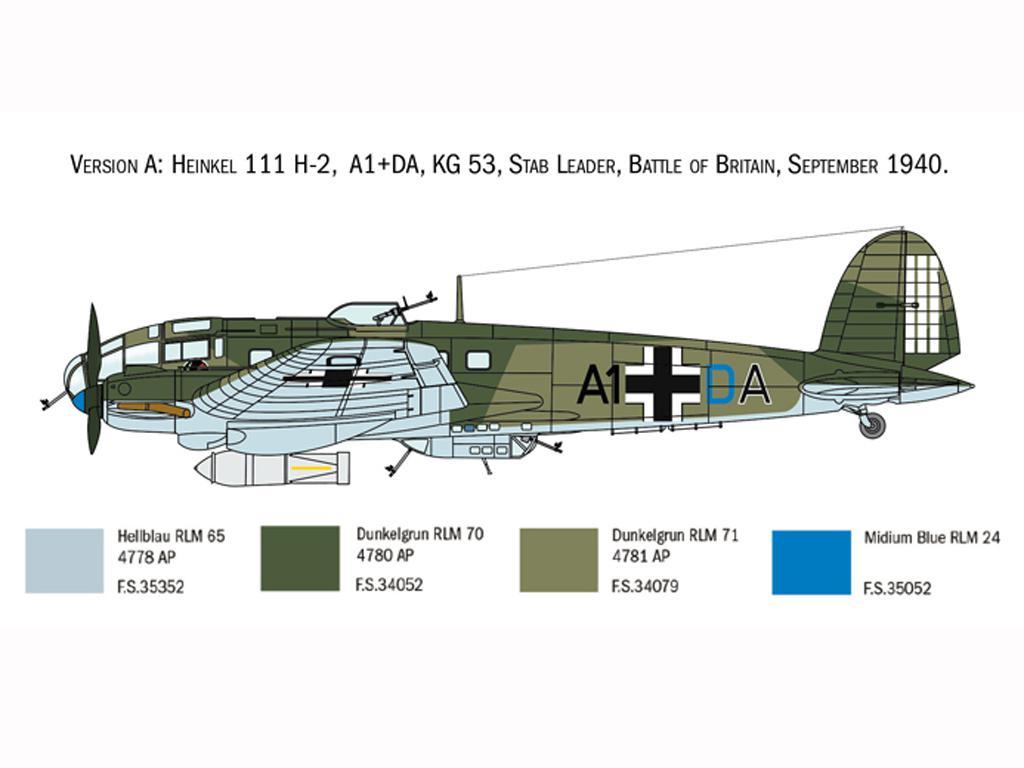 Heinkel He111H Battle of Britain (Vista 4)