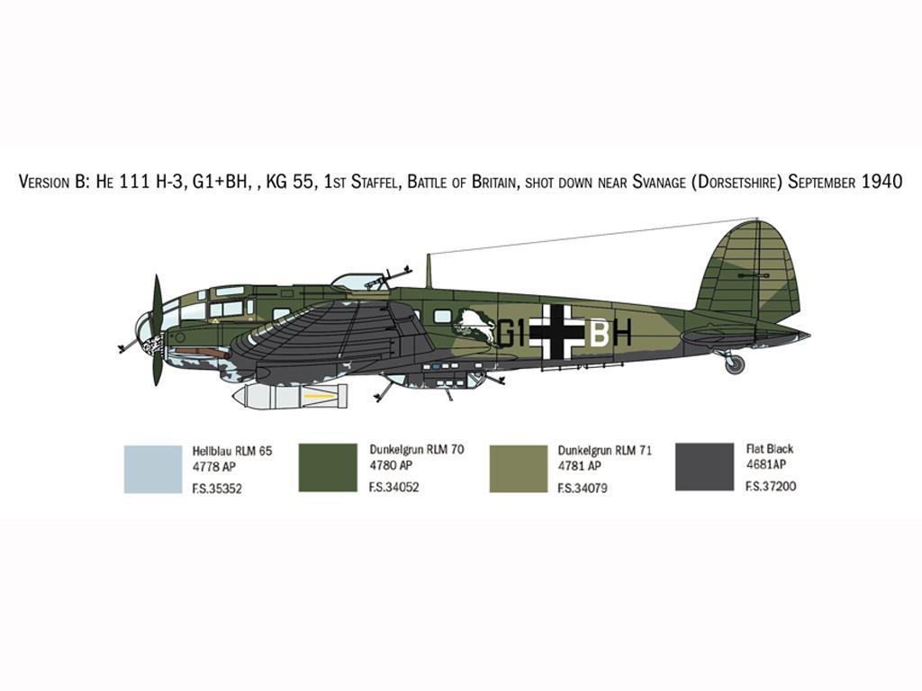 Heinkel He111H Battle of Britain (Vista 5)