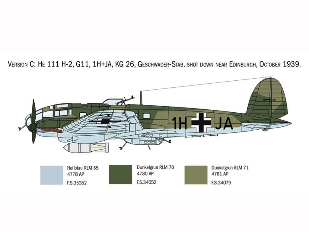 Heinkel He111H Battle of Britain (Vista 6)