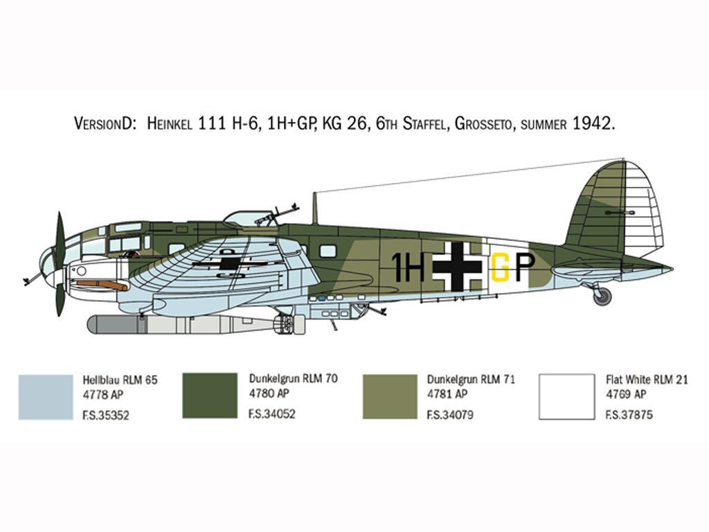Heinkel He111H Battle of Britain (Vista 7)