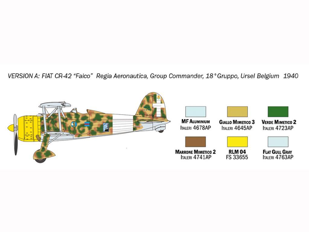 FIAT CR.42 Falco (Vista 4)