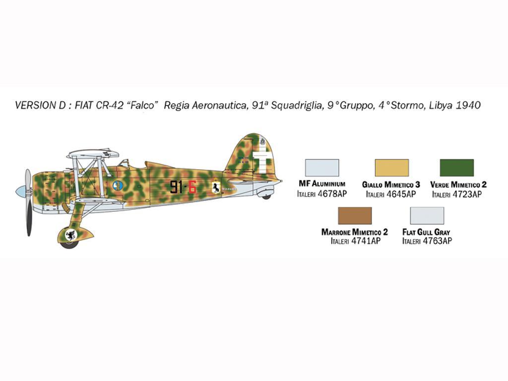 FIAT CR.42 Falco (Vista 7)