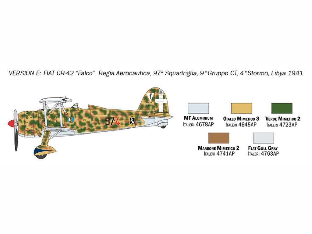 FIAT CR.42 Falco (Vista 8)