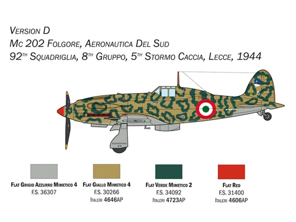 MC.202 Folgore (Vista 2)