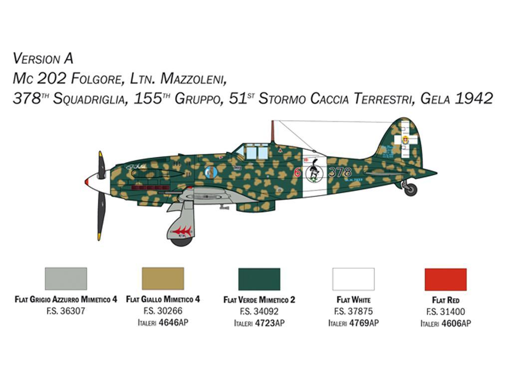 MC.202 Folgore (Vista 4)