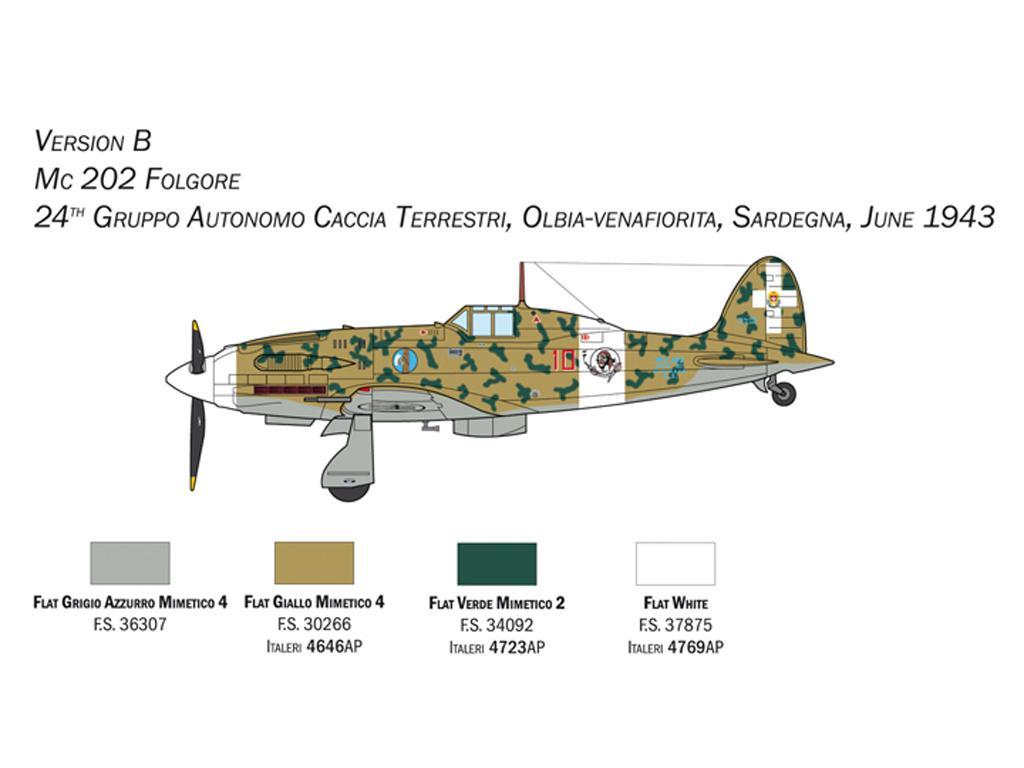 MC.202 Folgore (Vista 5)