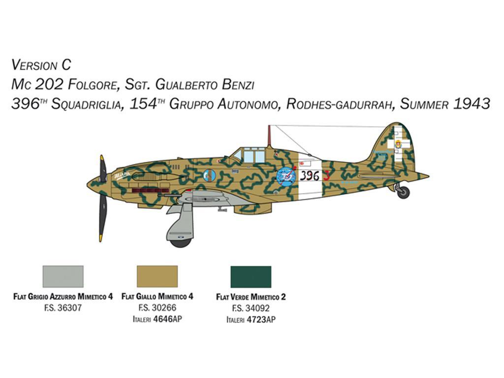MC.202 Folgore (Vista 6)