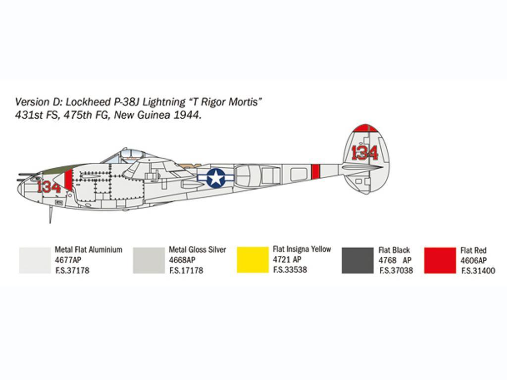 P-38J Lightning (Vista 2)