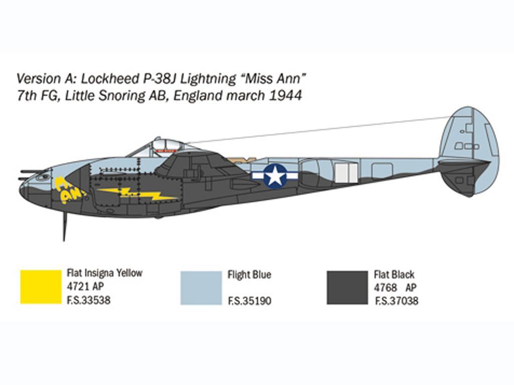 P-38J Lightning (Vista 4)