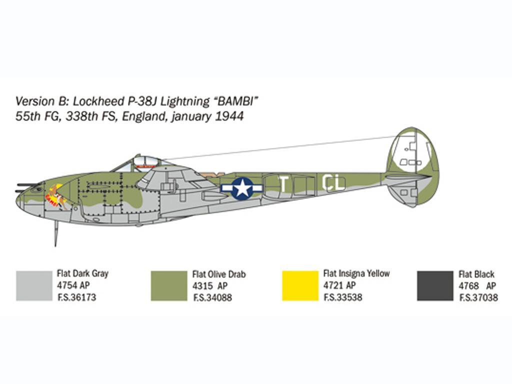 P-38J Lightning (Vista 5)