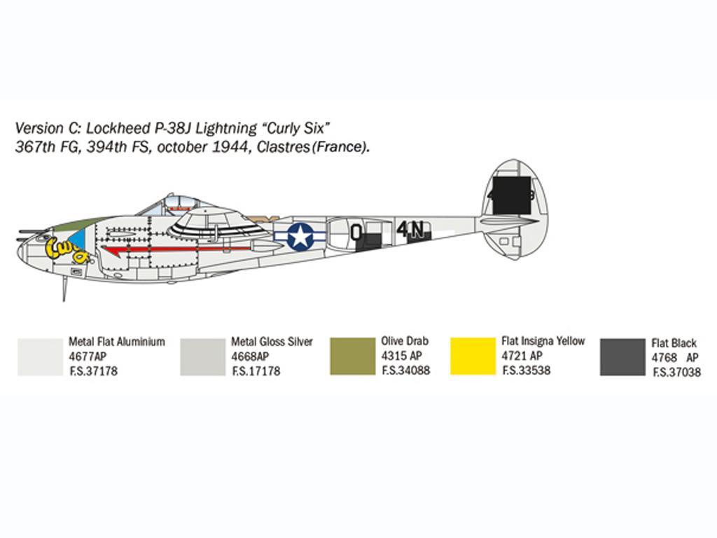P-38J Lightning (Vista 6)