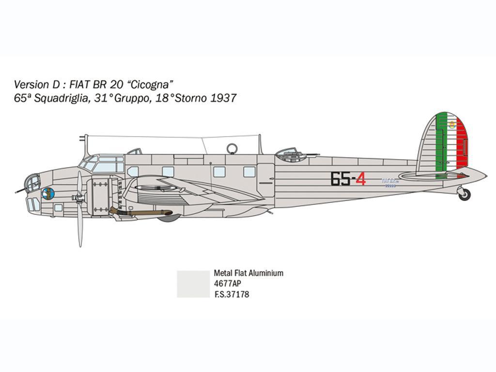 Fiat BR.20 Cicogna (Vista 2)