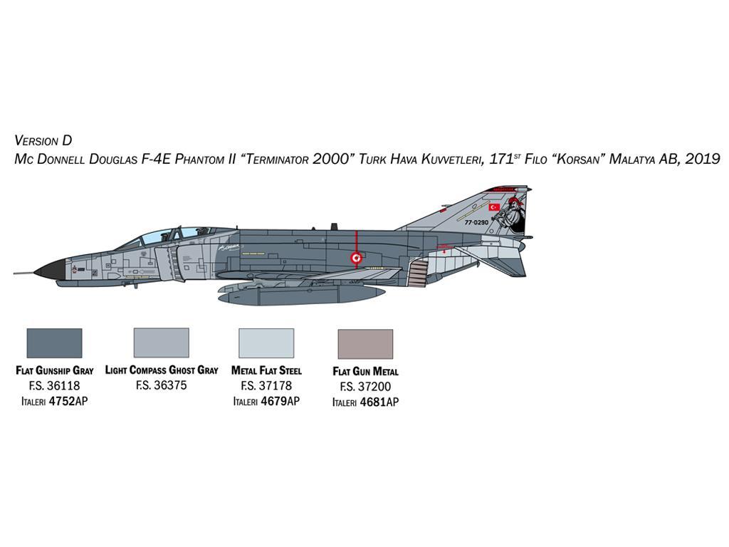 F-4E/F Phantom II (Vista 2)