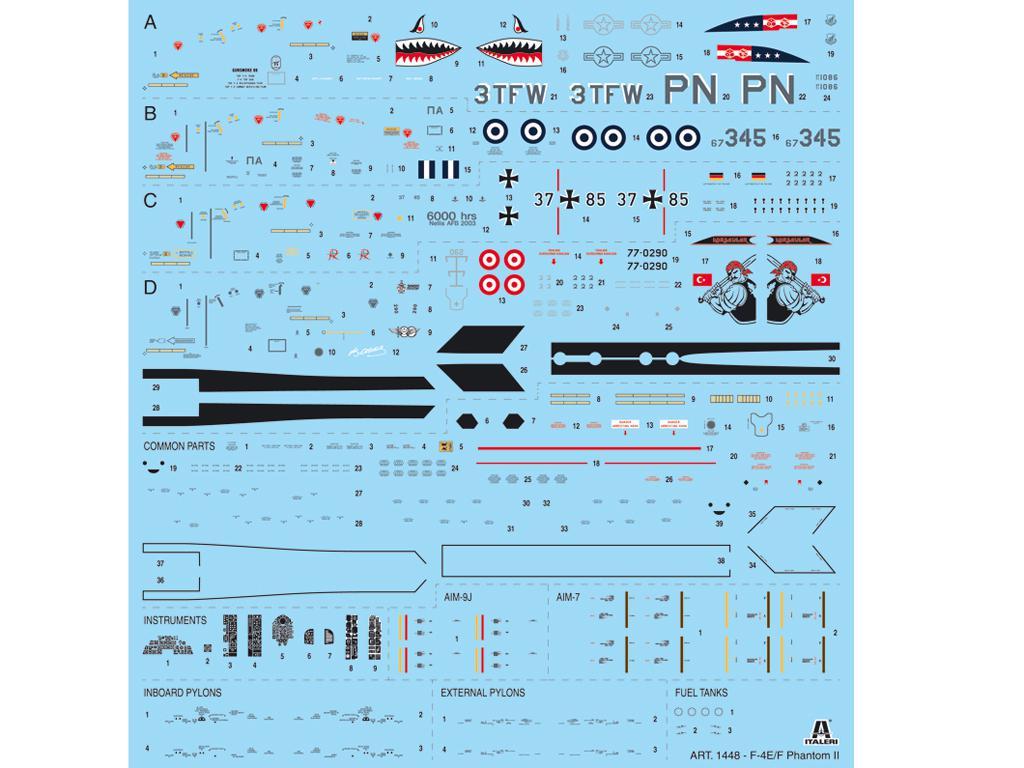 F-4E/F Phantom II (Vista 3)