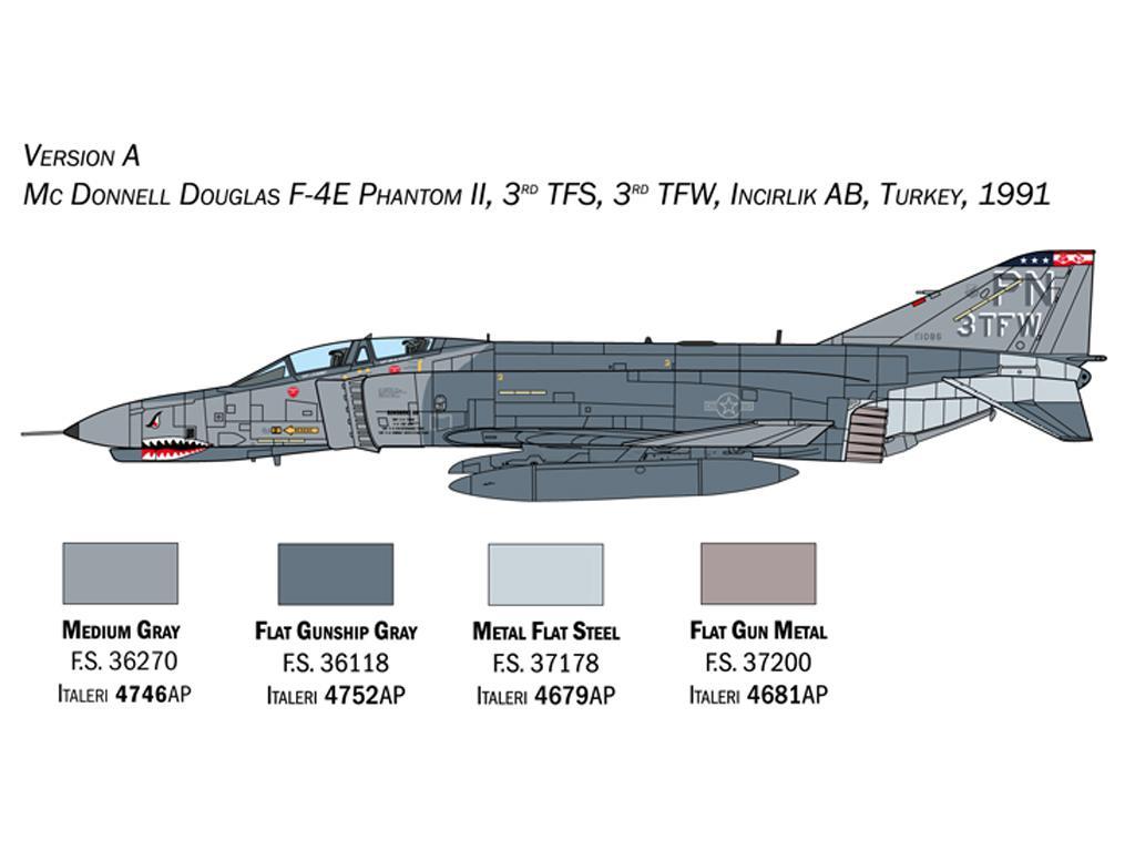 F-4E/F Phantom II (Vista 4)