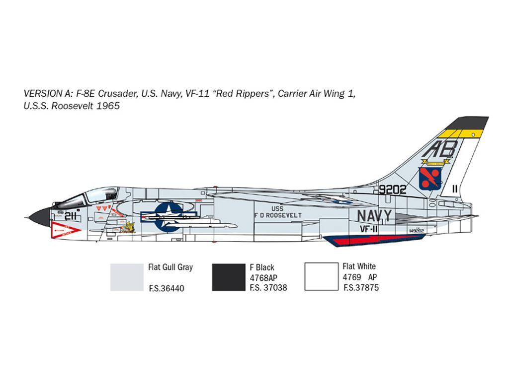 F-8E Crusader (Vista 4)
